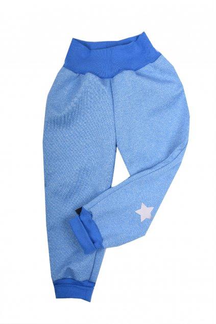 detske unisex kalhoty softshel 92 98 11103035