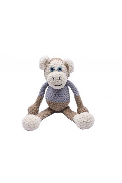 dekorace hracky hackovana opice 1