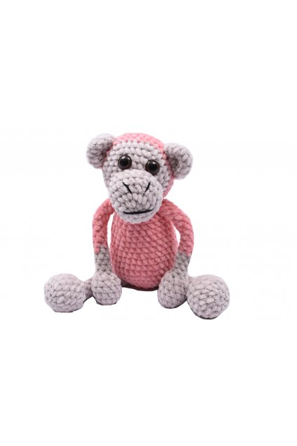 dekorace hracky hackovana opice 11