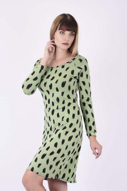 damske saty zelene B