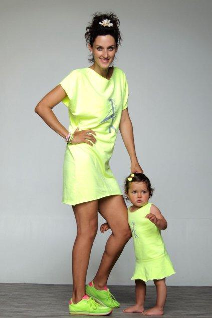 Neon šaty JK