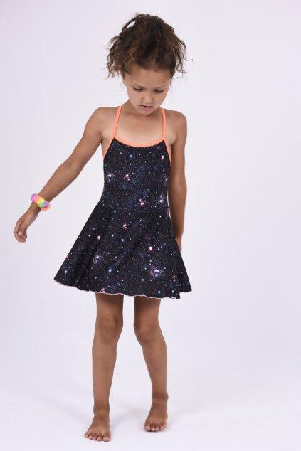 Holčičí točivá sukně galaxie