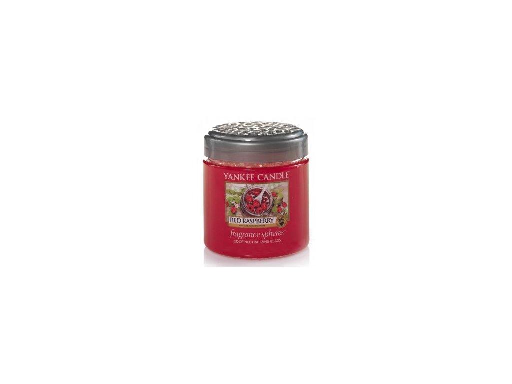 Vonné perly SPHERES RED RASPBERRY