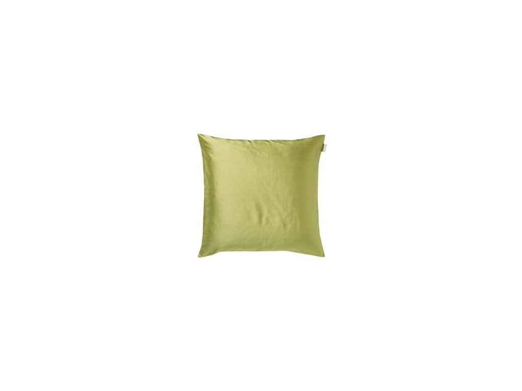 Povlak na polštář DUPION 50 x 50 cm olivová Linum