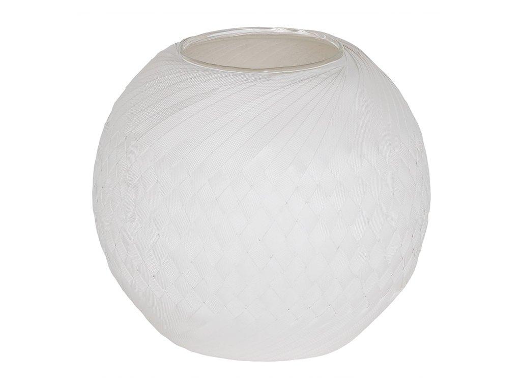 Květináč Bowl kulatý, váza, mísa bílá Handed By