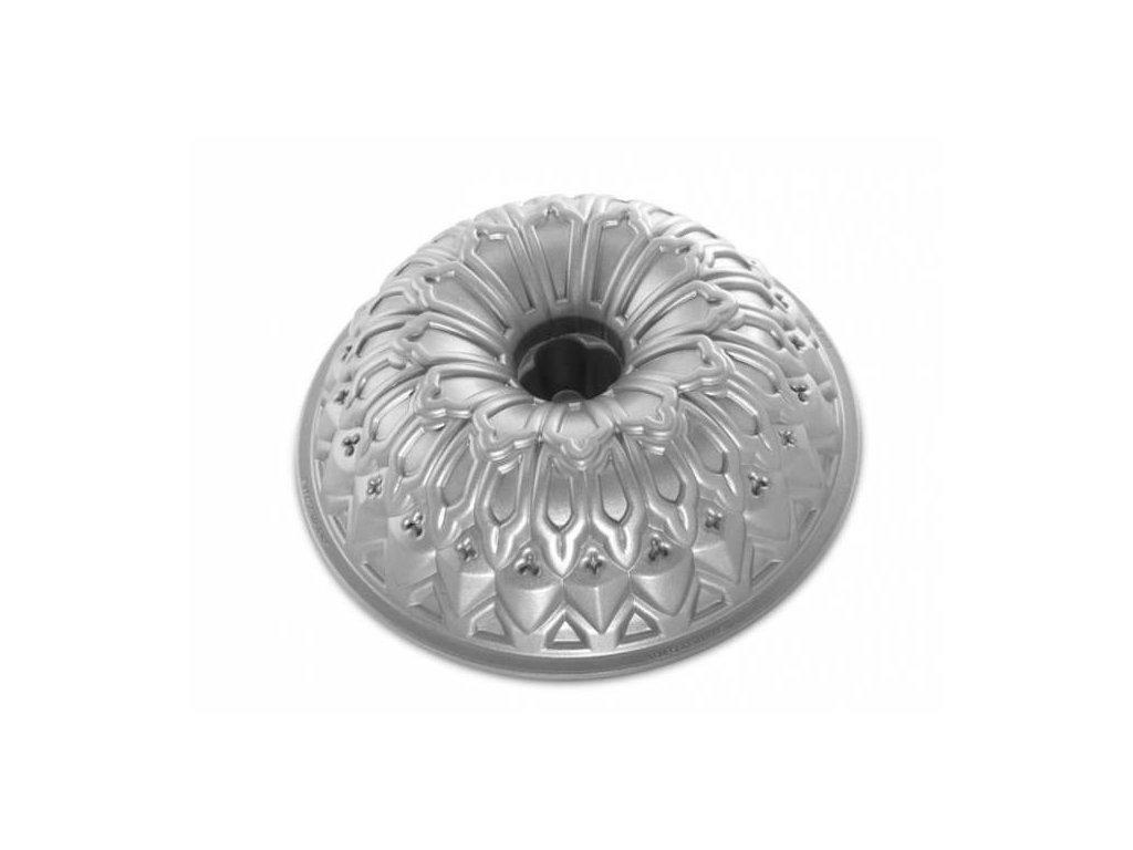 Forma na bábovku ROYAL stříbrná 9 cup Nordic Ware