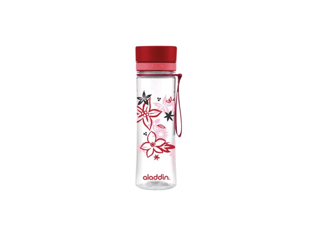 ALADDIN AVEO láhev na vodu 600 ml červená s potiskem