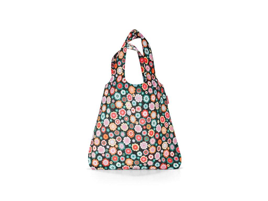 Skládací taška mini maxi SHOPPER happy flowers Reisenthel