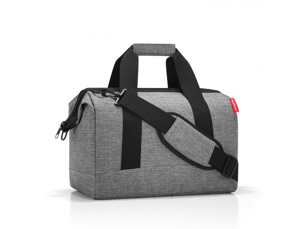 Cestovní taška ALLROUNDER M twist silver Reisenthel