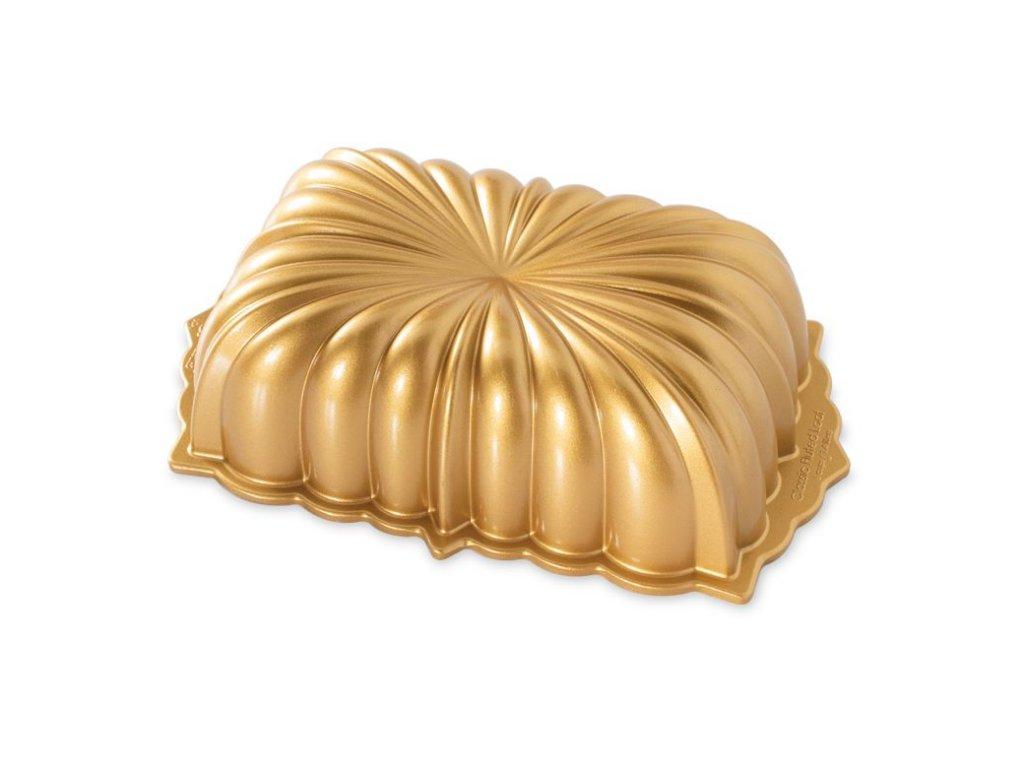 Forma na chlebíček CLASSIC FLUTED 6 cup zlatá Nordic Ware