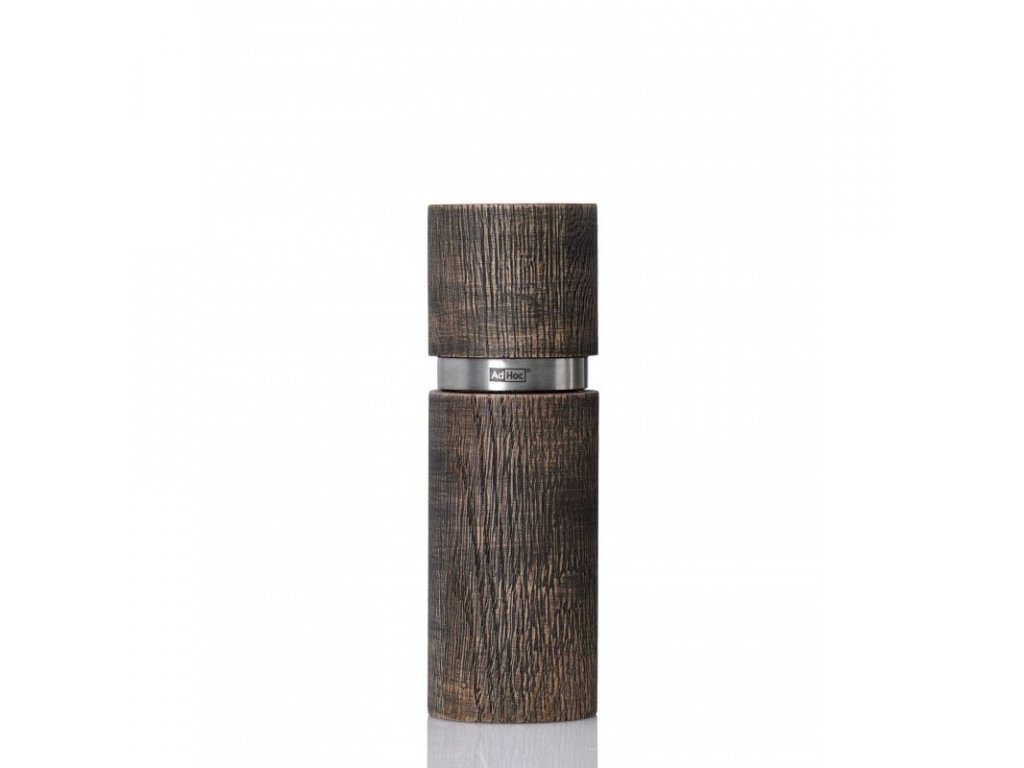 Mlýnek na pepř nebo sůl TEXTURA ANTIQUE, hnědý 15 cm AdHoc