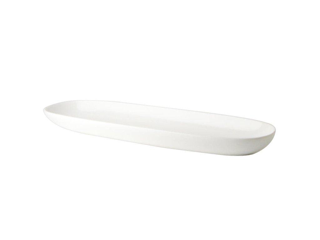 Talíř na bagetu 35 cm White Basics Maxwell Williams