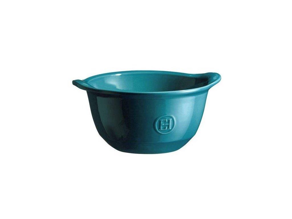 Miska ULTIME na polévku, zapékací Emile Henry, calanque 0,55 l