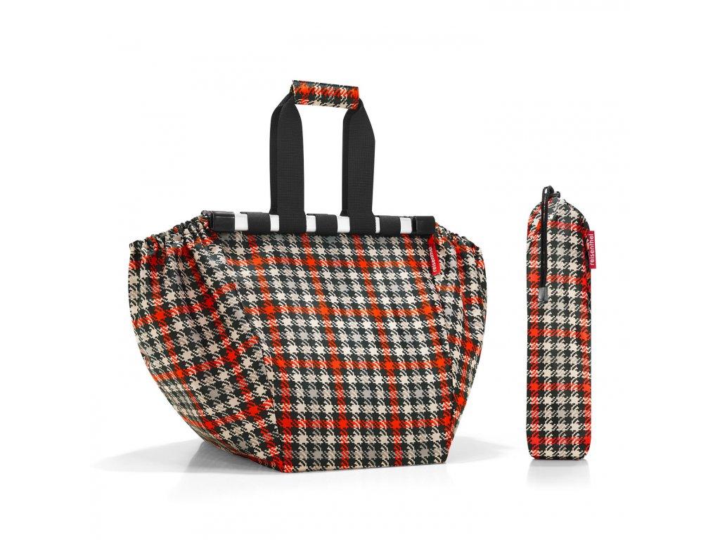 Nákupní taška do vozíku EASYSHOPPINGBAG glencheck red Reisenthel