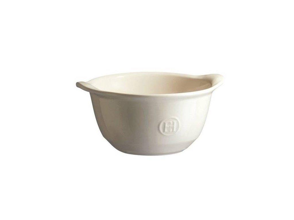 Miska ULTIME na polévku, zapékací Emile Henry, slonová kost 0,55 l