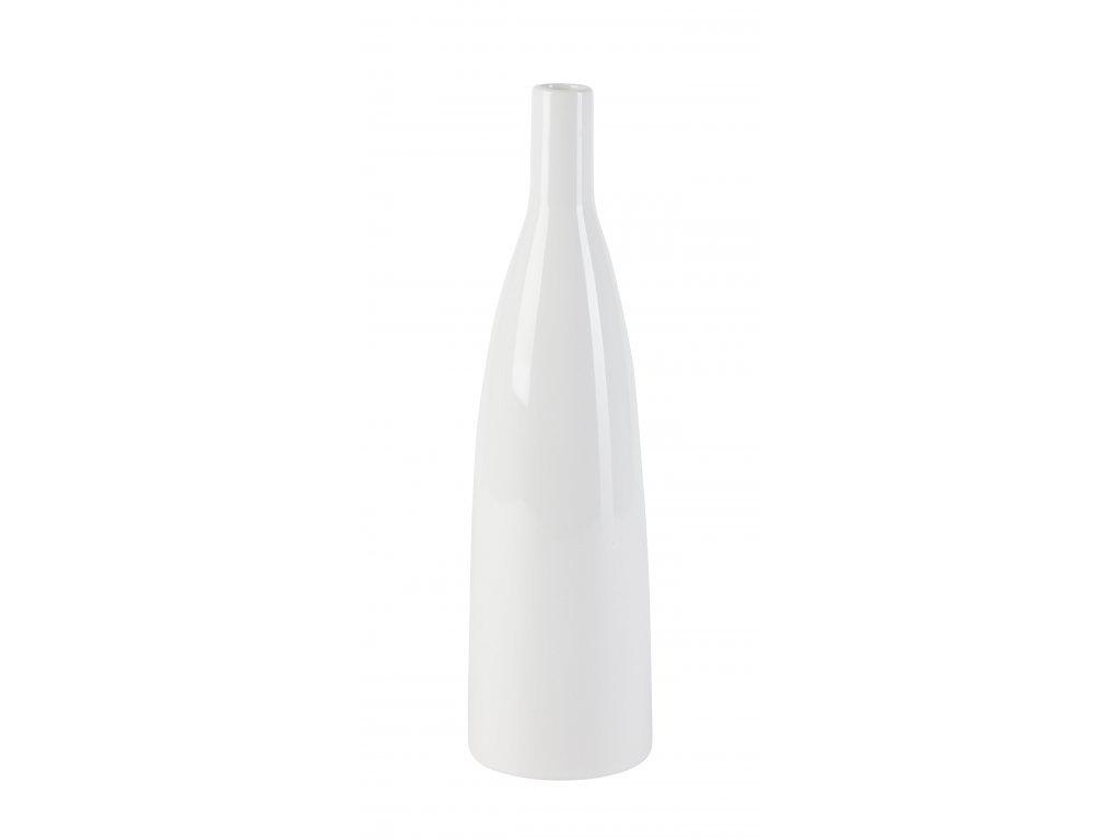Váza SMART 36 cm, bílá by inspire