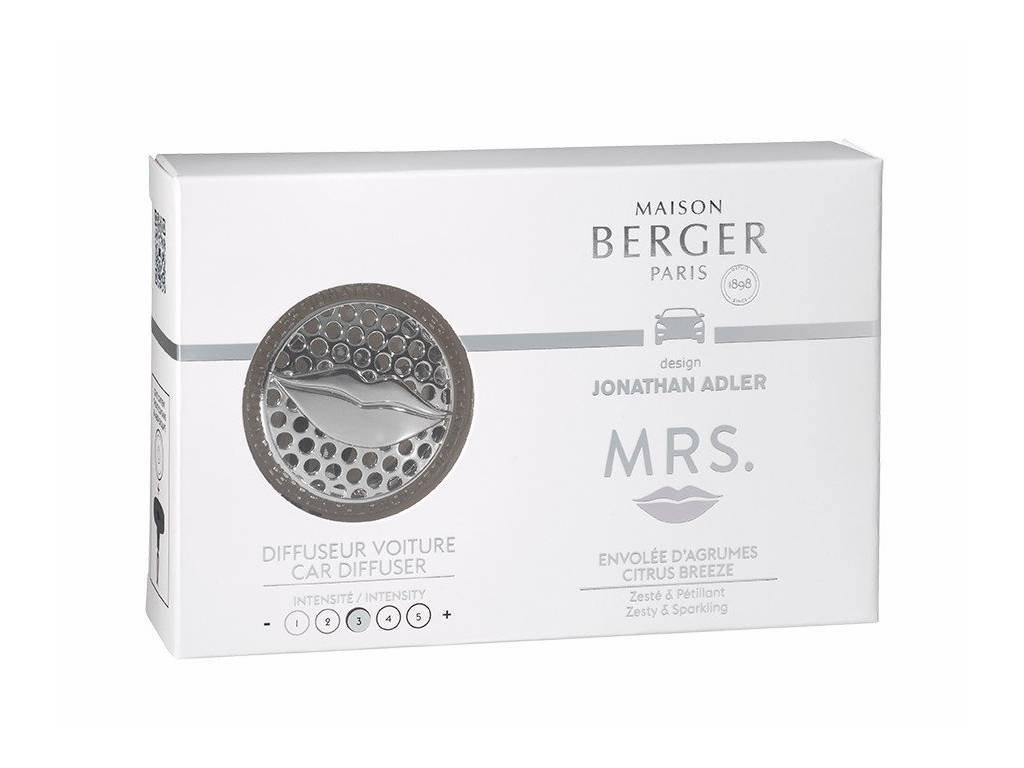 Vůně do auta difuzér MRS. citrus breeze, Maison Berger Paris
