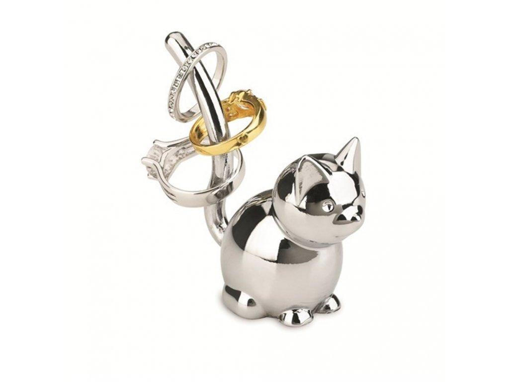 Šperkovnice ZOOLA CAT chromová, Umbra