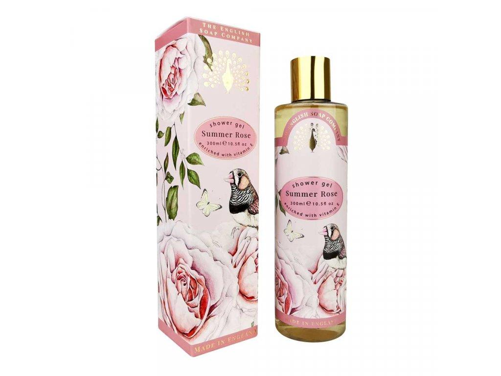 English Soap sprchový gel Letní růže, 300 ml