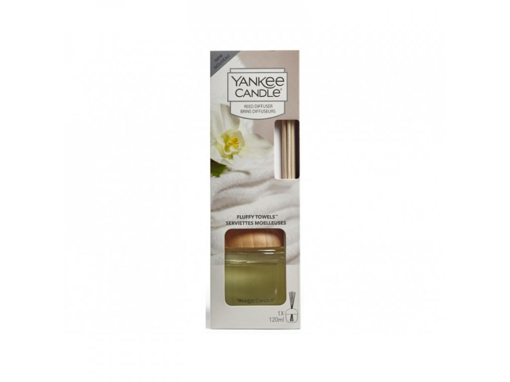 Difuzér Fluffy Towels 120 ml, Yankee Candle