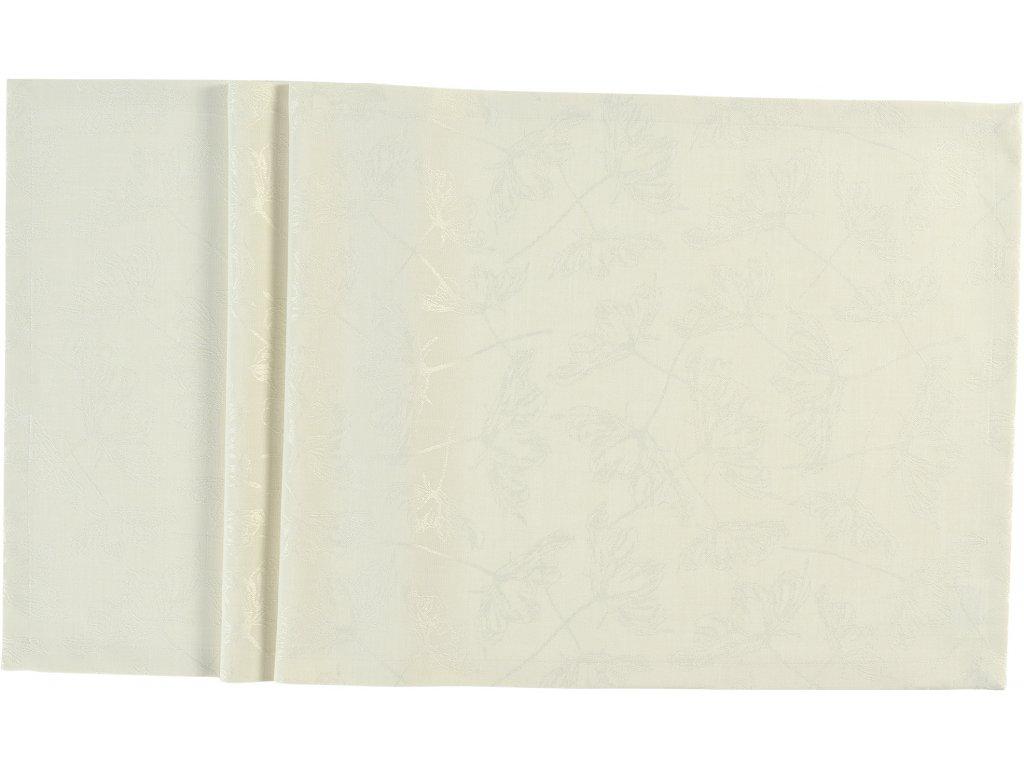 Středový pás LARA 50 x 140 cm, krémový SANDER