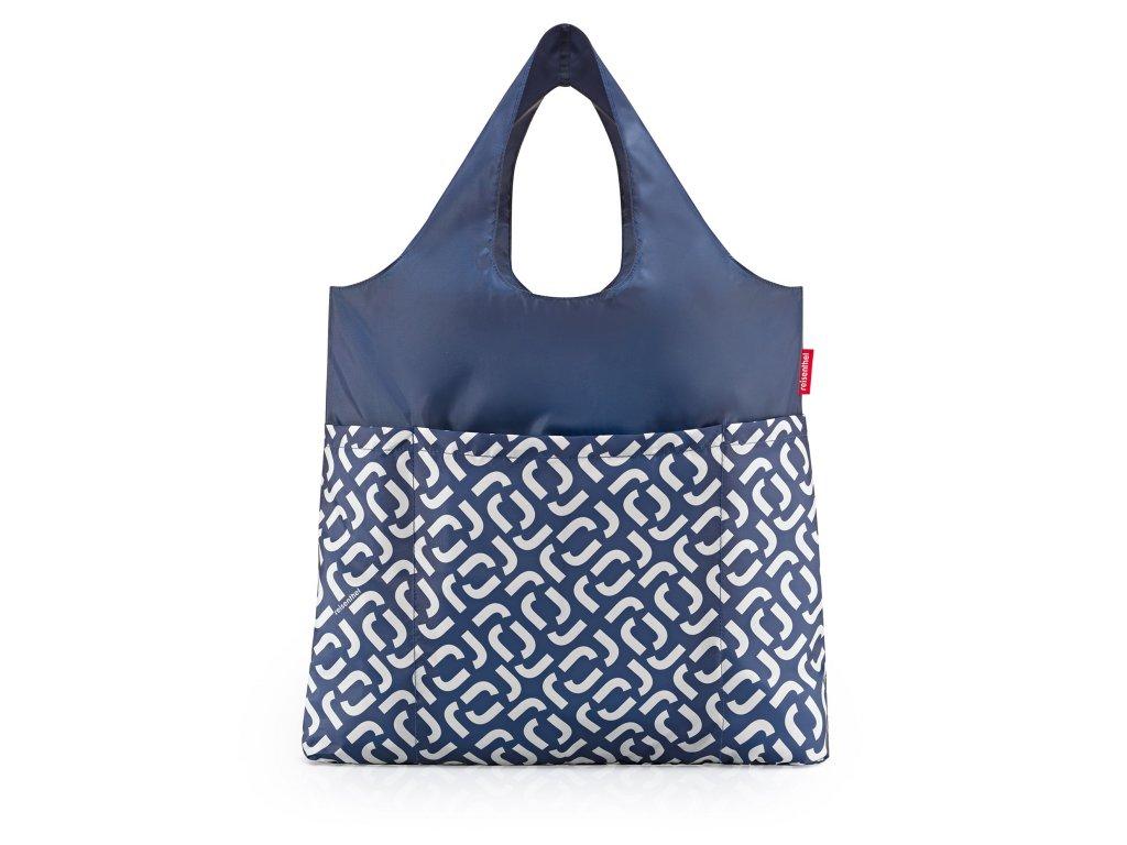 Skládací taška mini maxi Shopper plus, signature navy Reisenthel