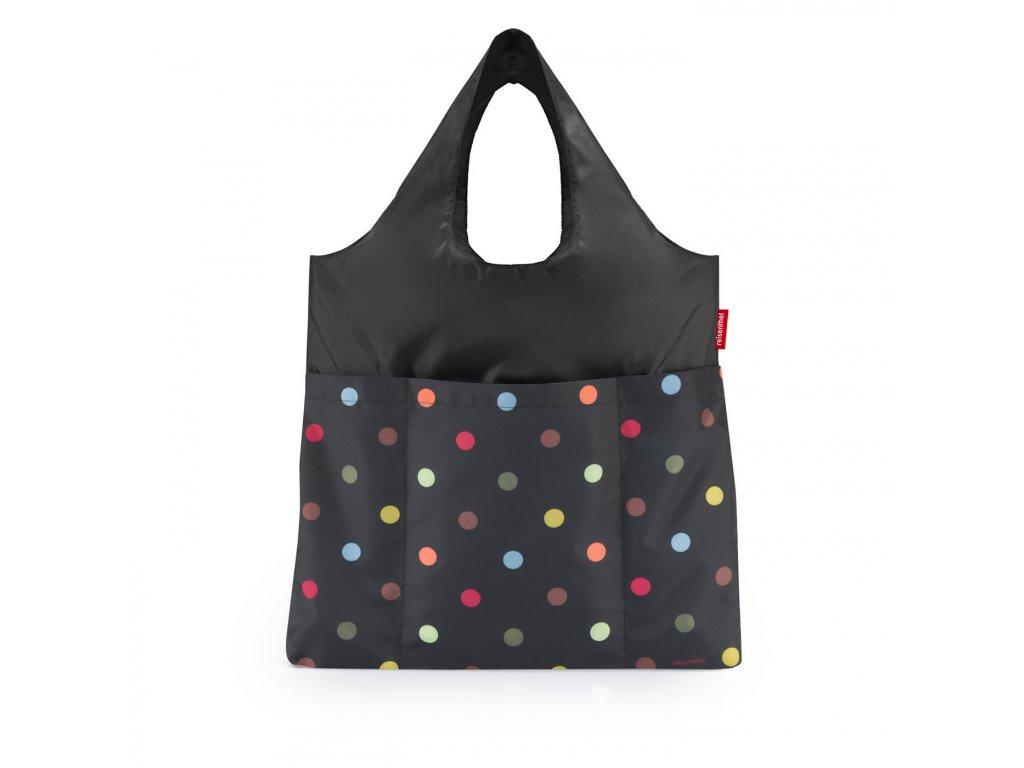 Skládací taška mini maxi SHOPPER plus, dots Reisenthel