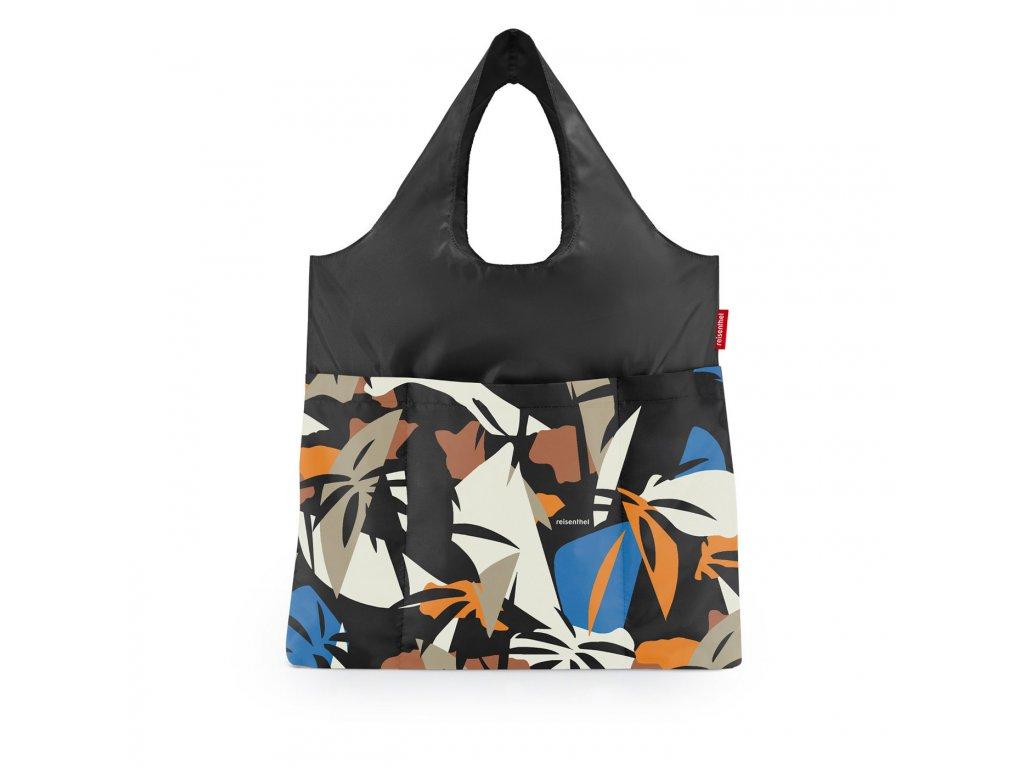 Skládací taška mini maxi SHOPPER plus, miami black Reisenthel