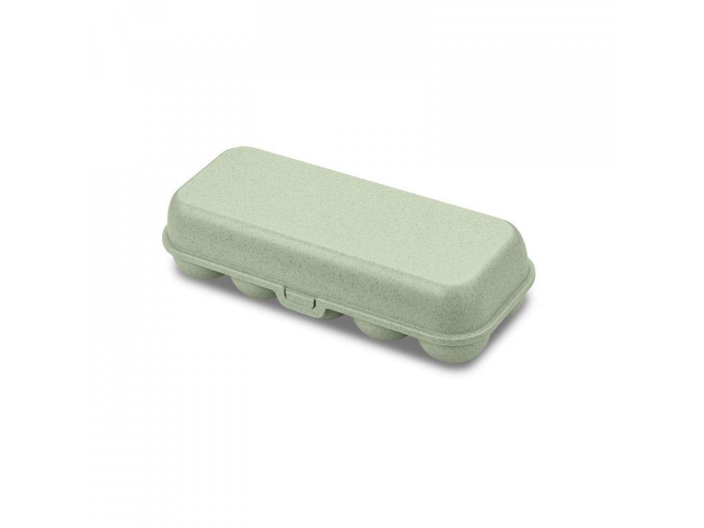 Box na vajíčka EGG ORGANIC, zelený Koziol