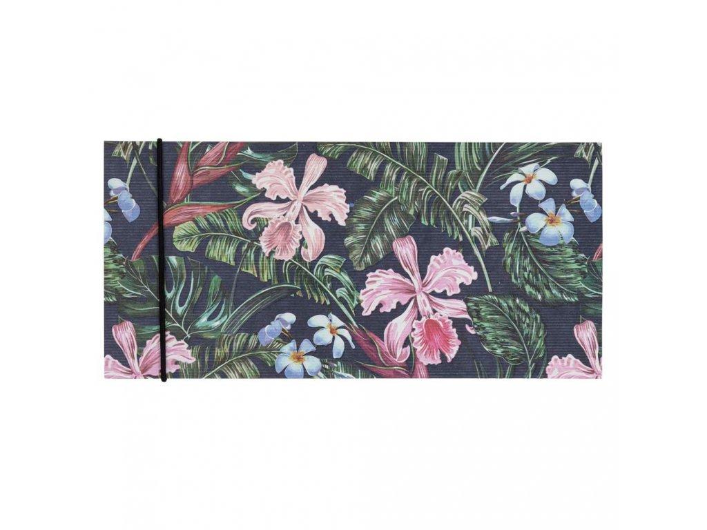 Dárková obálka přání Orchideen, 23 x 11 cm Artebene