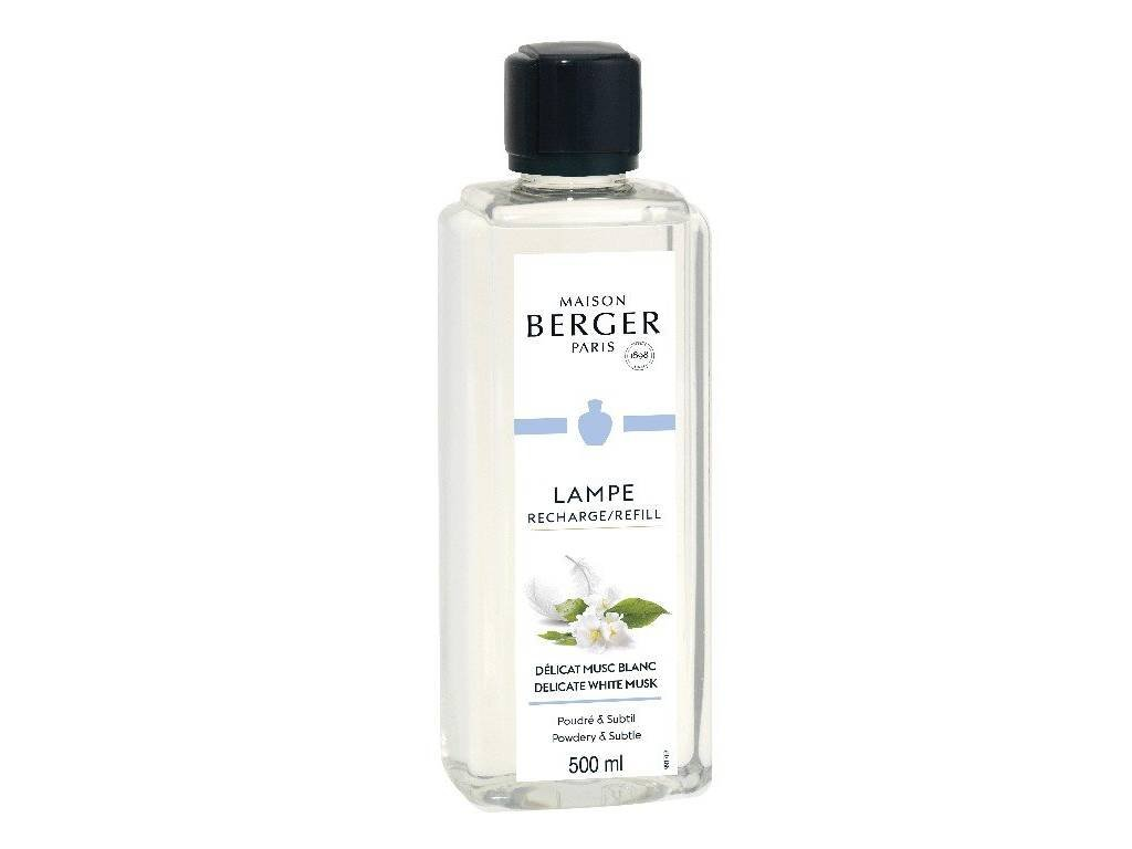 Maison Berger Paris interiérový parfém Jemné bílé pižmo, 500 ml