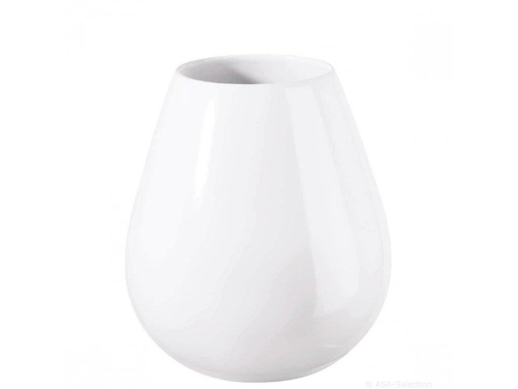 Váza EASE XL 32 cm, bílá ASA Selection