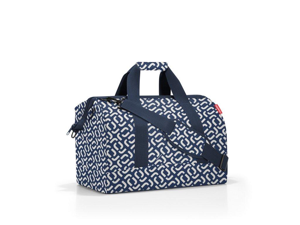 Cestovní taška ALLROUNDER L signature navy, Reisenthel