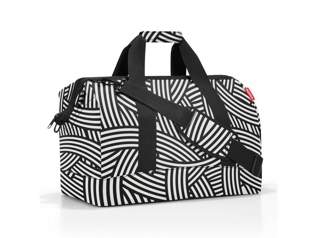 Cestovní taška ALLROUNDER L zebra, Reisenthel