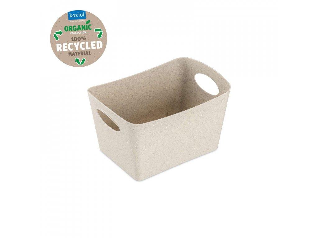 Koziol úložný box BOXXX S Organic 1l, béžový