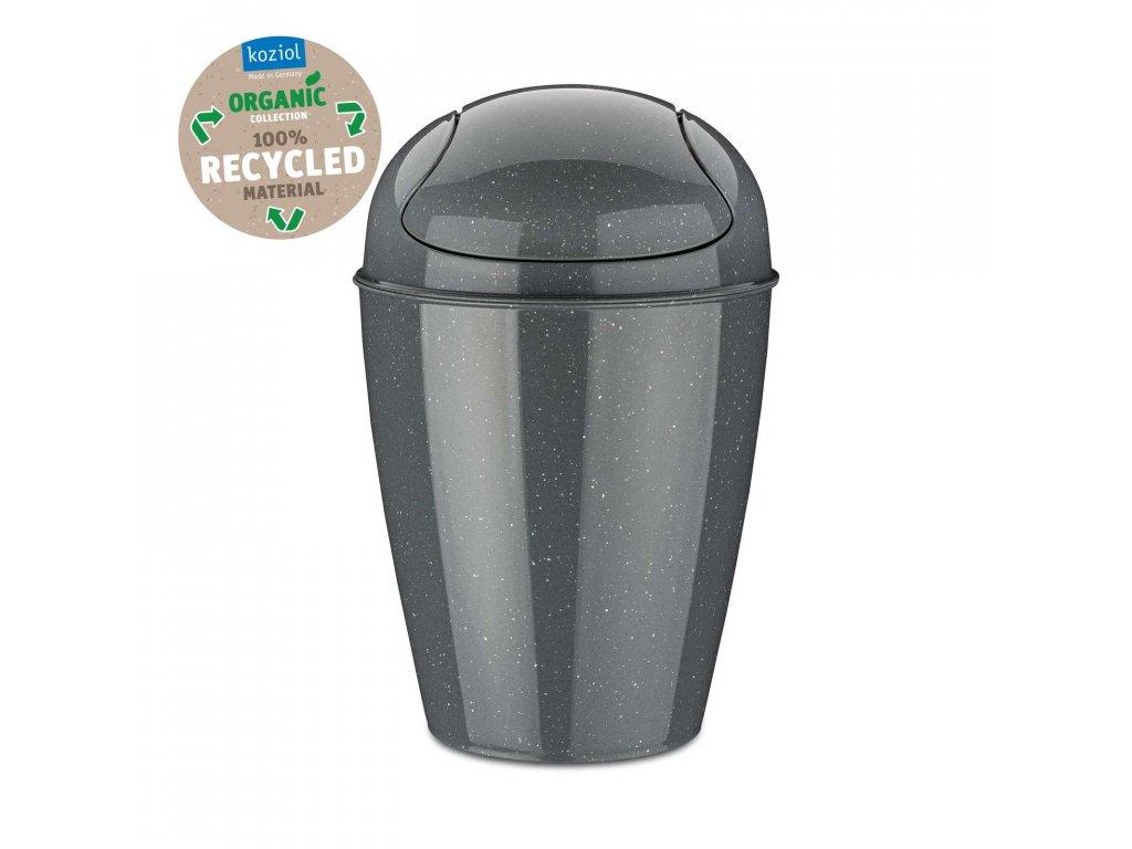 Koziol odpadkový koš SWING DEL S Organic 5l, šedý