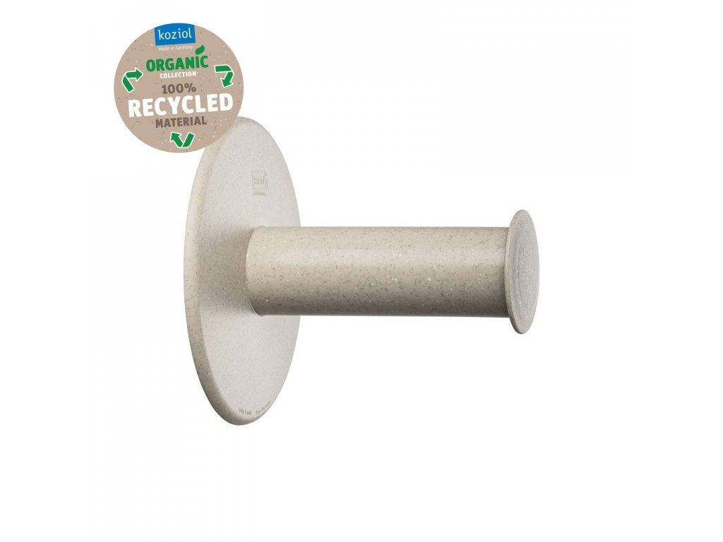 Koziol držák na toaletní papír PLUG´N´ROLL, béžový