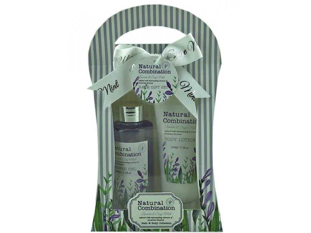 Salsa Collection dárková sada Lavender & Sage Mint, 2 dílná