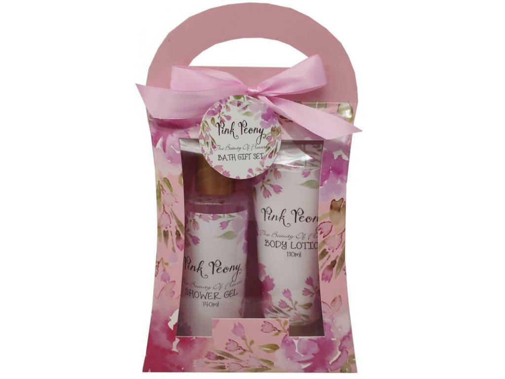Salsa Collection dárková kosmetická sada Pink Peony, 2 dílná