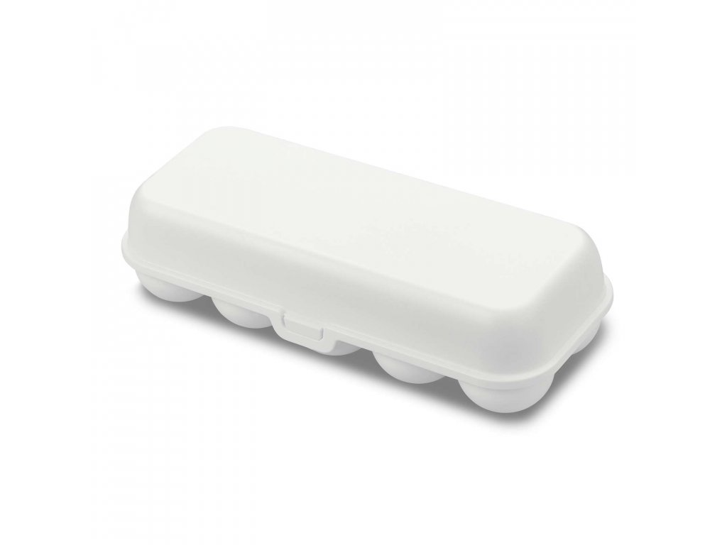 Koziol box na vajíčka EGGS TO GO, bílý
