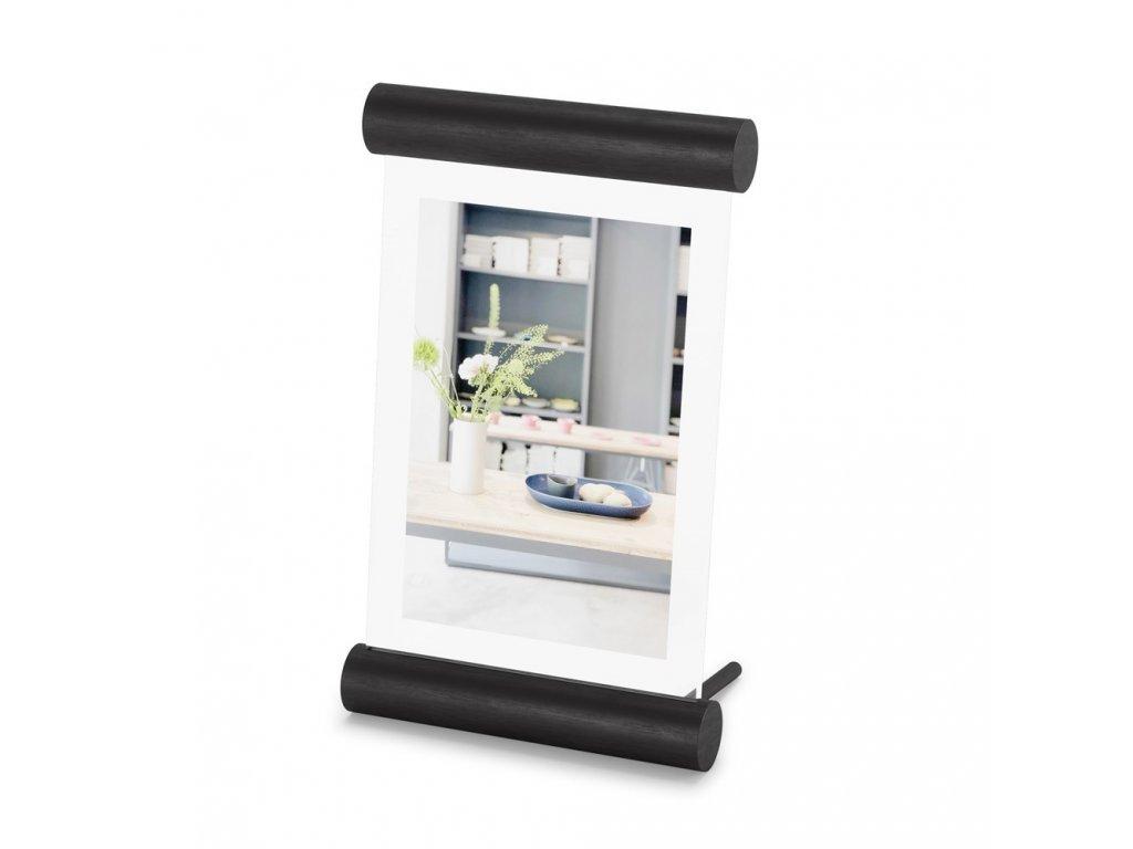 Umbra fotorámeček SCROLL 10 x 15 cm, černý