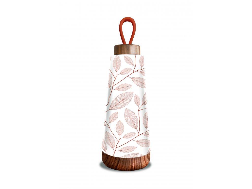 Chic.Mic termoláhev Bioloco loop mini, Terracotta leaves