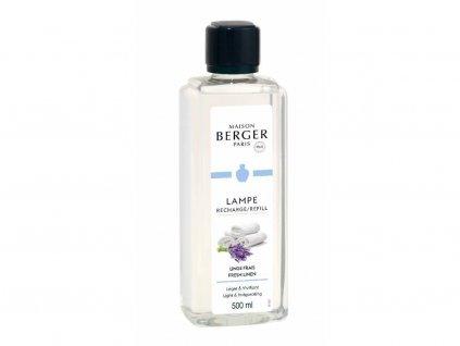 Interiérový parfémSvěží vyprané prádlo,500 ml do katalytických lamp Maison Berger Paris
