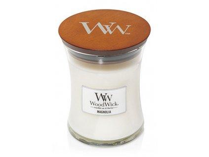 WoodWick vonná svíčka sklo střední MAGNOLIA