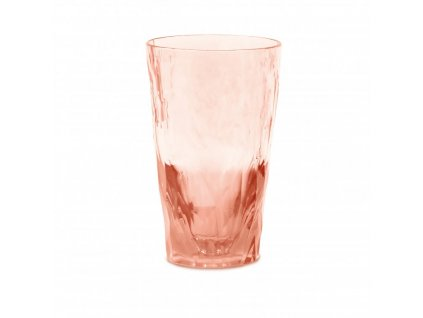 Sklenice CLUB EXTRA růžová 300 ml Koziol
