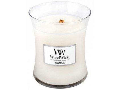 WoodWick vonná svíčka sklo malé MAGNOLIA