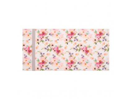 Dárková obálka přání 23 x 11 cm květy ARTEBENE