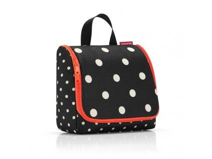 Kosmetická taška TOILETBAG 23 x 20 cm mixed dots Reisenthel