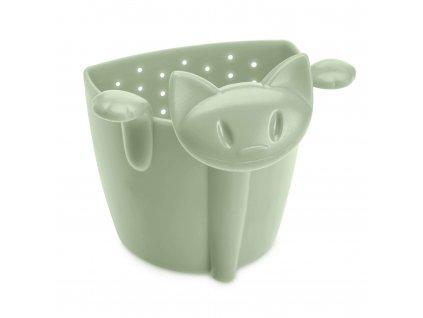 Sítko na čaj MIAOU barva zelená Koziol