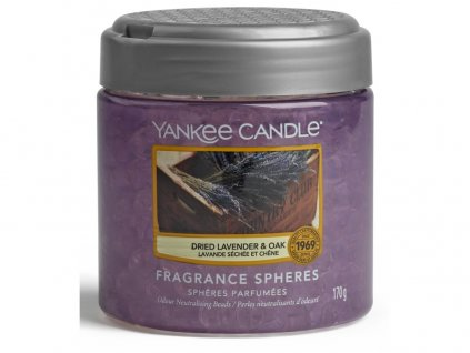 Vonné perly DRIED LAVENDER & OAK Yankee Candle
